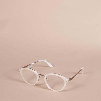 Mercy Reading Glasses, Pearl