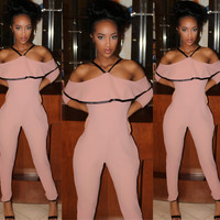 Sale* Panini in Paris Jumpsuit Nude