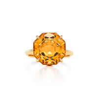 Tiffany & Co. - Tiffany Sparklers ring in 18k gold with a citrine.