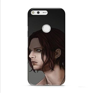 Bucky Barnes Art Civil War Google Pixel XL 2 case