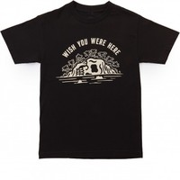 Sketchy Tank Wish T-Shirt - Black