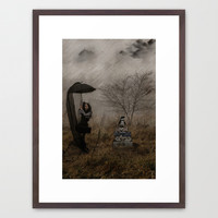 Taxi? Framed Art Print by Galen Valle