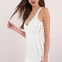Lace Be Honest Bodycon Dress