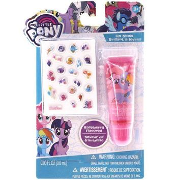 My Little Pony Lip Gloss with Stickers