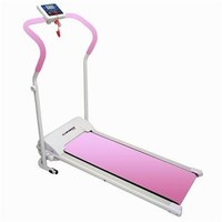 Power Plus Motorized Fitness Treadmill PINK
