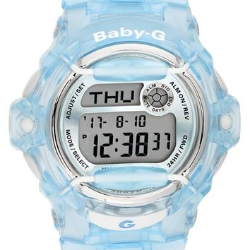 G-Shock Baby-G Ana-Digi Resin Strap Watch, 42mm | Nordstrom