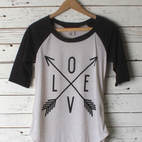 Arrow of Love Baseball Tee