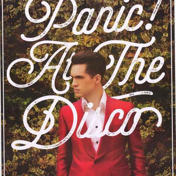 Panic! At The Disco Brendon Urie Poster 24x36