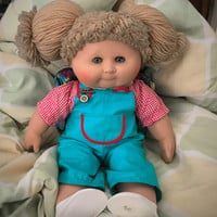 Zapf Collection Cabbage Patch Like Doll  German Cabbage Patch Doll From 1984 With Pig Tails Use Coupon Code 2BEBBUY and Get 20 % Off  20.00