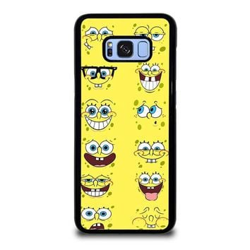 SPONGE BOB MOOD FACE Samsung Galaxy S8 Plus Case Cover