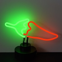 Chili Pepper Neon Sculpture