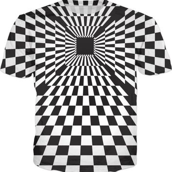 ROTS Checkerboard Dimension T-shirt (AOP)
