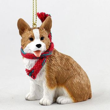 WELSH CORGI PEMBROKE ORIGINAL ORNAMENT, LARGE