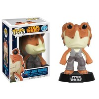 Funko POP Star Wars: Jar Jar Binks Bobble Figure