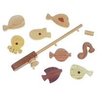 Noted Soopsori Wooden Play Fishing Set at Oompa - Baby Toys, Gear and Furniture