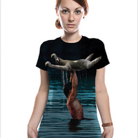 Dirty Dancing Sloth, Women's Tee, Movie T-Shirt, Slothzilla, Available S-XXL