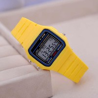 Fashion Sport Watch For Men - Kid Colorful Electronic Led Digital Watch
