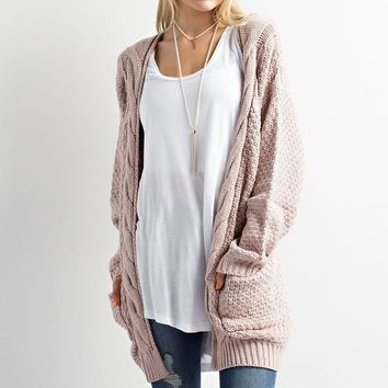 Spread Your Wings Oversized Cardigan