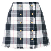 Thom Browne Check Mini Skirt - Farfetch