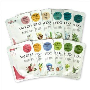 Vanedo Beauty Friends Sheet Mask from Korea (12pc set)