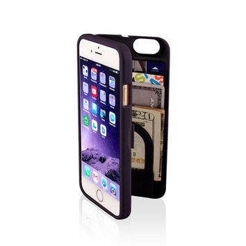 eyn Protective Phone Case w/ Storage Space & Mirror For iPhone 6
