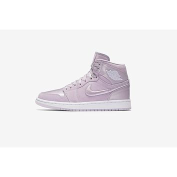 AA QIYIF WMNS Air Jordan 1 Retro High 'Season Of Her' - Barely Grape