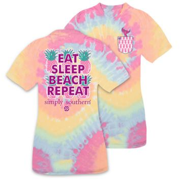 Simply Southern - Eat Sleep Beach Repeat YOUTH
