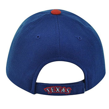 MLB '47 Brand Youth Texas Rangers Velcro Adjustable Boys Blue Hat Cap Baseball