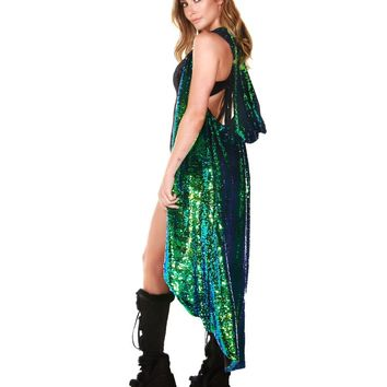 Sparkle Queen Sequin Vest