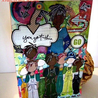 You Got This Handmade All Occasion Card . Ready to Ship.