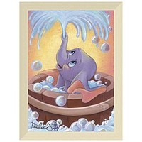 ''Dumbo in Bubbles'' Giclée by Michelle St.Laurent | Disney Store