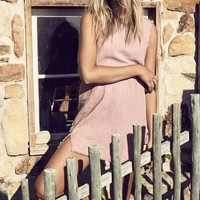 Kayla Dress Blush – ROWIE The Label