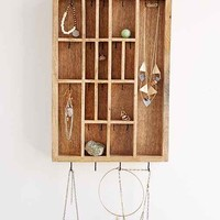 4040 Locust Letterpress Jewelry Organizer- Brown One