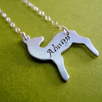 Harry Potter - Snape's Patronus Necklace: Always - Doe Patronus Necklace