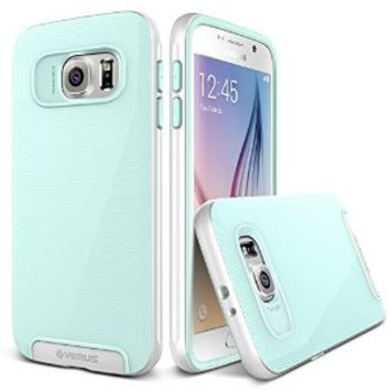 Galaxy S6 Case, Verus [Crucial Bumper][Spring Mint] - [Drop Protection][Low Profile][Slim Fit] For Samsung Galaxy S6