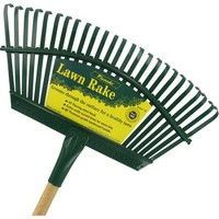 Flexrake 1W 48 in Handle 19 in Steel Head Lawn Rake - Walmart.com