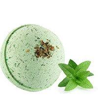 Awaken Your Senses - Energizing Bath Bomb - Peppermint, Clary Sage and Juniper Berry