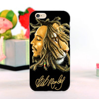 rasta lion reggae bob mobile phone Cases for iphone 5s 4s 4c 6 6plus  for Samsung S3 S4 S5 S6 S7 Note 2 3 4 5