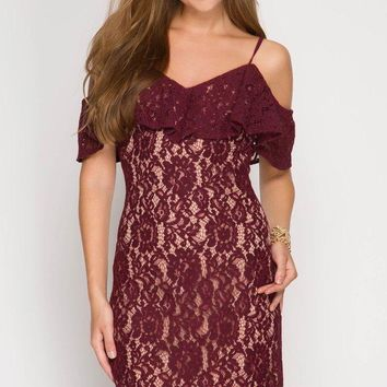 Wine tasting Lace Dress