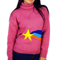 Mabel Pines Big Shooting Star Sweater From 8bitspock On Etsy