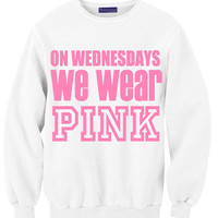On Wednesdays We Wear Pink On White | Yotta Kilo