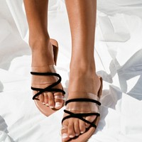 Strappy Flats - Shoes by Sabo Skirt