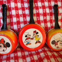 Mickey and Minnie Mouse Cookware Pans FREE SHIPPING by TinkersNook