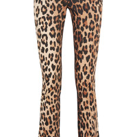 Altuzarra - Terrier leopard-print stretch-cotton flared pants