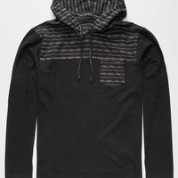 O'neill Code Blue Mens Lightweight Hoodie Black  In Sizes