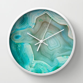 THE BEAUTY OF MINERALS 2 Wall Clock by Catspaws