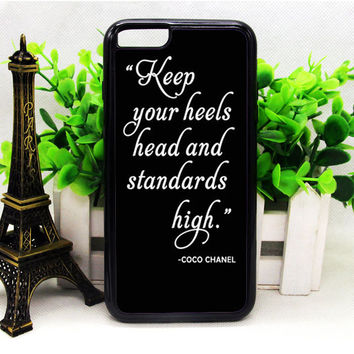 COCO CHANEL QUOTE IPHONE 6 | 6 PLUS | 6S | 6S PLUS CASES