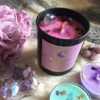 MYSTIC UNICORN Unicorn Candy Faerie Floss Luxury Crystal Candle