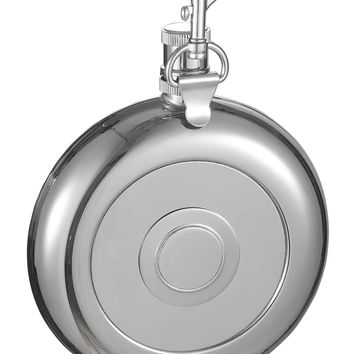 Visol Bullseye Flask with Built-In Shot Cup and Belt Key Holder - 8oz