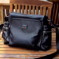 Gucci Men's 2018 New Style Leather Corss Body Bag